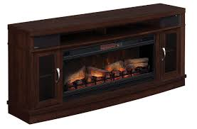 picture of 70 inch deerfield tv stand with fireplace insert