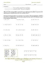 multi step equations with variables both sides worksheet impression multi step equations with variables both sides