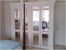 Remarkable Mirrored French Doors with Unique Mirrored French Closet