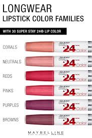Maybelline 24 Hour Lipstick Color Chart All Day 24 Hour Lip Color Available In 30 Beautiful Shades