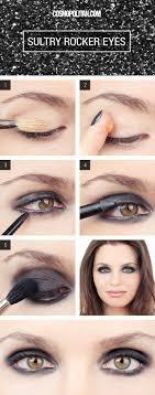 scene makeup for brown eyes best 25 black eyeshadow tutorial ideas on smoky