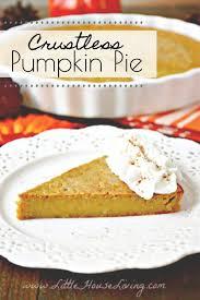 simple crustless pumpkin pie recipe