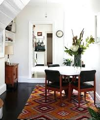 dining room rug statement dining room rug the design files no rug under dining room table