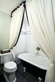 96 inch shower curtain bathroom craftsman with bath black claw foot long fabric liner