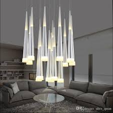 modern led meteor shower pendant lamp acrylic pendant light chandelier ceiling light bar dining room tower inside white gold wood pendant lamp moroccan