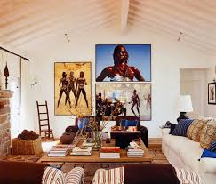 Interior Design: 2 African Inspired Ranch Martyn Lawrence Bullard - Home  Decor Ideas