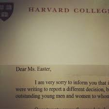 my harvard admissions essay victoria easter wilson harvard rejection letter