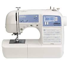 Brother Sewing Machines 100 Stitch Computerized Sewing Machine White Xr9500prw