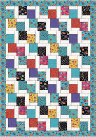 Free Pattern - Tumbling Charms Quilt from Farm Fresh Fabrics & Click Image to Enlarge - Adamdwight.com