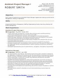 Assistant Project Manager Resume Job Description Assistant Project Manager Resume Samples Qwikresume