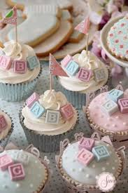 6 Simple Cupcake Ideas For Your Baby Shower Baking Time Club