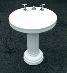 cast iron porcelain sink refinish antique old with drainboard vintage sinks kitchen enamel cleaner