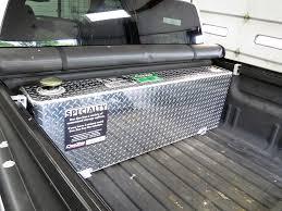 DeeZee Truck Bed Auxiliary Tank - Rectangle - Aluminum - 38 Gallon ...