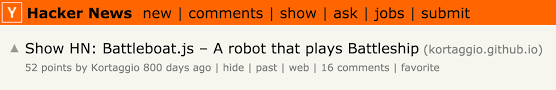 how i got my dream job in the tech industry out a cs degree  screenshot of a hacker news th