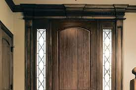 wood look fiberglass entry door jlc