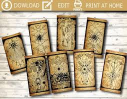 Free tarot reading by the decans. Printable Tarot Deck That Are Remarkable Mason Website