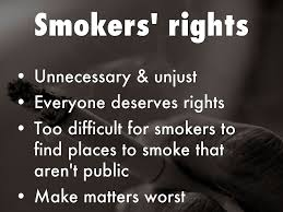 smoking persuasive speech by justin chai smokers rights