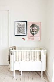 A unique oval crib that expands (with extension kit) with your baby to meet  their changing needs & size. Scandinavian design for your childs nursery.