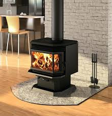 stand up wood burning stove metal supports in fireplace free stoves