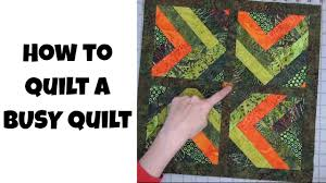 How to Quilt a Busy Quilt Top - Free Motion Quilting and Ruler ... & How to Quilt a Busy Quilt Top - Free Motion Quilting and Ruler Foot Quilting  with Leah Day Adamdwight.com