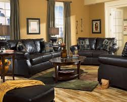 Living Room With Black Furniture With Paint Colors For Living Room Walls  With Black Furniture
