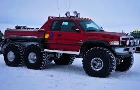 All-Terrain 6x6 Dodge RAM in Iceland. | Cummins | 6x6 truck, Pickup ...