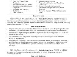 Data Entry Jobs Resume Examples Best of Resume Example For Data Entry Cv Sample Clerk Position Format