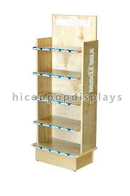 Wooden Display Stands Uk Beauteous Wooden Display Stands 32 Shelf Blackboard Stand Wood For Sale House