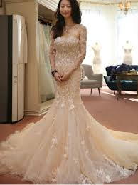 trumpet mermaid wedding dresses cheap mermaid style bridal