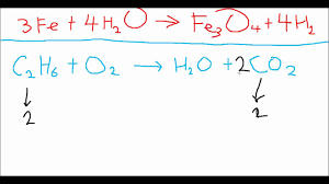 balancing chemical equations two difficult questions explained