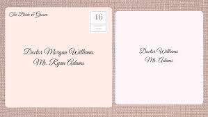 Envelope Wedding How To Address Wedding Invitations Southern Living