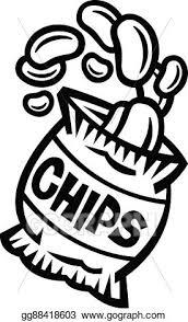 bag of potato chips clipart. Simple Clipart Bag Of Potato Chips For Of Clipart