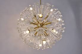 emil stejnar for rupert nikoll vintage pyra chandelier 1950 s ca