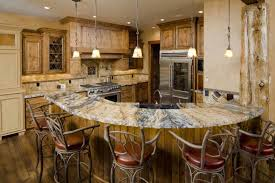 kitchen remodeling ideas large curved bar