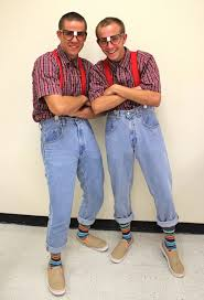 Image result for pictures of students dressed as twins
