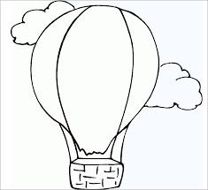 50+ bức tranh tô màu khinh khí cầu đẹp nhất cho bé