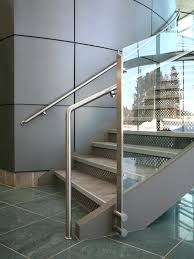 glass handrail system infill panel curved glass fitting satin fittings railing type handrail stainless steel system style glass guard with handrail deck