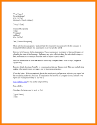 Employment Separation Letter Template - April.onthemarch.co