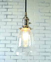 bubble glass pendant light lights hanging shade reserved globe