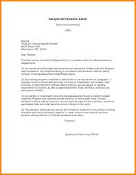 Certification Letter Sample Elrey De Bodas