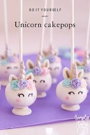 Baking Semi Diy Uncicorn Cake Pops Simply Tale