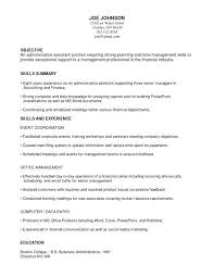Functional Resume Objective Examples Of A Combination Resume