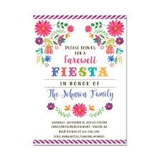 Amazon Com Mexican Fiesta Farewell Party Invitation Going