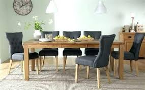 round dining table seats 8 table and 8 chairs awesome oak extending dining table with 6