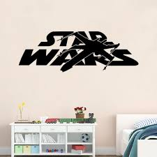 star wars wall stickers home decor living room diy art mural decals removable wall sticker