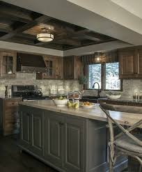 custom rustic kitchen cabinets. This Custom Kitchen Brings Rustic Style To A New Level Of Sophistication. Some The Beautiful Features Include Knotty Alder Inset Cabinets, Grey Cabinets