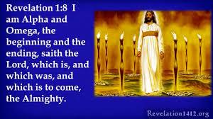 Image result for Revelation 1:8