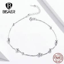 <b>BISAER Top Quality</b> 100% 925 Sterling Silver Dazzling Zirconia ...