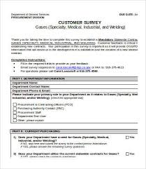 Printable Surveys Printable Survey Template 100 Free Word PDF Documents Download 6
