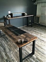 marvellous inspiration ideas reclaimed wood office desk wonderfull design desk recycled spanish style